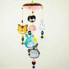 My Neighbor Totoro Hanging Baby Mobile Nursery Crib Decor Windbell DIY Materials