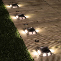 Solar Power Robust High Power Path and Driveway Light | Security Garden Outdoor