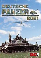 Deutsche Panzer Kalender in Farbe 2021 - 14 Farbige Kalenderblätter
