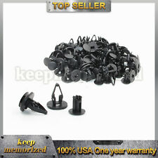 50pcs Nylon Liner Clip Push Pin Retainer 11589293 For Ford Hummer GM Torrent Equ