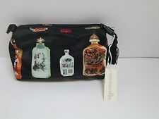 NORDIC HOUSE DESIGNS COSMETIC BAG -- ASIAN INSPIRED DESIGN