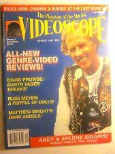 VIDEOSCOPE Magazine #22 Spring 1997 - Bruce Dern, Russ Meyer, Dark Angels (New)