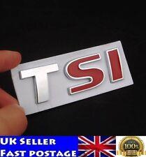TSI Badge Car Stickers Logo Emblem Deca VW Golf JETTA PASSAT MK4 MK5 Volkswagen