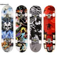 "31"" x 8"" Professional Skateboard Longboard Complete Truck Maple Deck Wood Gift~~"