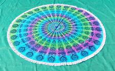 Tie Dye Round Mandala Tapestry Mandala Beach Throw Towel Round Yoga Mat Picnic