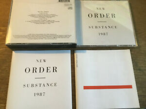 New Order - Substance 1987  [ 2 CD Box ]  Dickes Case