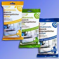 Sparkle & Shine Allzweck Reinigungstücher, 60 Feuchttücher f. Haushalt Küche Bad