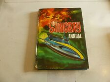 STINGRAY ANNUAL - Year 1966 - UK Annual - (With Price Tag) - Damaged Spine