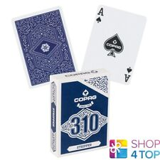 COPAG 310 STRIPPER POKER PLAYING CARDS DECK PAPER STANDARD INDEX BLUE NEW