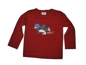 Ex Mini Boden Cut Label Penguin  T-Shirt 100% Cotton Age 18-24 Months NWOT