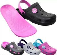 Ladies Mules Nursing Gardening Womens Beach Clogs Sandals Flip Flops UK Size 4-8
