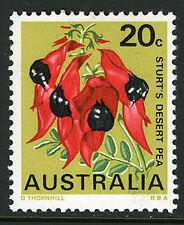 Australia 437, MNH. State Flower: Sturt's desert pea, South Australia, 1968