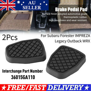 Brake  Rubber Pedal for Subaru Forester IMPREZA  Outback WRX AU SHIPPING