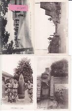 Camp de Mailly Arsenal et soldats Francais guerre 14-18 photo sur CPA lot 0119/M