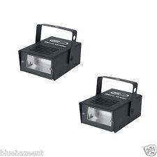 2 - Eliminator Micro Strobe  dj dance party 20w halloween strobe light