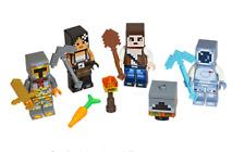 Lego ® Lot x4 Minifig Figurine Minecraft & Accessoires NEW
