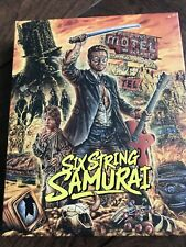 Six String Samurai Blu Ray 4k UHD Vinegar Syndrome
