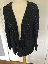 French Connection Mimosa Beaded Jacket. New Size 16