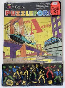 Rare 1983 Colorforms The A-Team Frame Puzzleform Puzzle USA Mr. T Vintage MIP