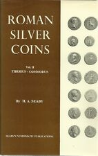 ROMAN SILVER COINS VOL.II TIBERIUS - COMMODUS - H.A. SEABY - 1968