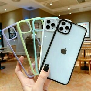 Shockproof Clear Phone Cover Case For iPhone 12 Pro Max Mini 11 7 8 SE XR X XS