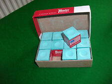 Masters Green Snooker/Pool Chalk Box of 12