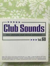 Club Sounds Vol. 60 Album 3 CD's Rarität Zustand gut