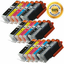 18 Pk PGI-250XL CLI-251XL Gray +Chip Ink Cartridge For Canon Pixma MG7120 MG6320