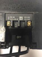 SQUARE D 8736 SE02 SIZE 3 REVERSING STARTER 600VAC 50HP COIL 31074-400-38 120V