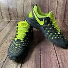 NIKE FREE TRAINER 5.0 MENS Size 13 Running Shoes Black Neon Yellow (579809-002)