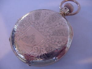 MAGNIFICENT 1881 RARE 18s LANCASTER WATCH Co ELLERON EARLY HAMILTON AWESOME CASE