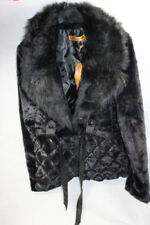 Faux Fur Patternless Princess Coats & Jackets for Women
