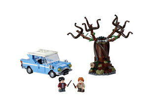 LEGO Harry Potter & Ron Weasley with Flying Car and Whomping Willow 75953 NEW
