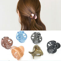 Fashion Women Lady Girl Hair Clips Claw Barrette Korean Style Crab Clamp Hairpin