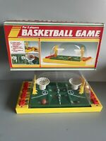 Vintage Basketball Game Playwell Bubble Finger Operated Shooting Tabletop Rare