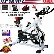 Indoor Exercise Bike Stationary Bicycle Cardio Fitness Workout Gym & Home #35lbs