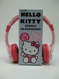 Hello Kitty rosa-weis pink Kinder Kopfhörer Stereo 3,5mm Stecker Auktion