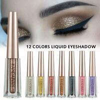 Glitter Flüssiges Lidschatten Langlebige wasserdichte Kosmetik Augen Make up