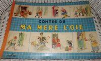 CONTES DE LA MERE L' OIE - ALBUM DU GAI MOULIN / LIVRE ANCIEN