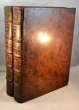 MOEURS ET USAGES DES TURCS 1746-47 Two Volumes Turkey Turks