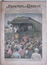 LA DOMENICA DEL CORRIERE N.34 19/8/1928- VILLEGGIATURA BALILLA/ LA RADIO..