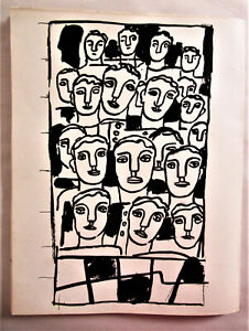 FERNAND LEGER - THE PEOPLE II - ORIGINAL LITHOGRAPH - 1955 - FREE SHIP IN US !!!