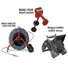 Ridgid 325 Withts Reel 63588 Navitrack Scout Locator 19238 Cs6x Versa 64968