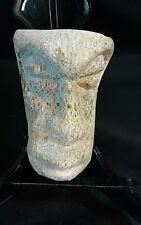 Mastodon/Stegodon Carving - Island of Java.  Fossil bone carving #4