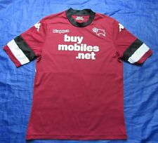 Derby County FC away shirt jersey KAPPA 2013-2014 The Rams /adult/ SIZE XL