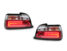 LED Light Bar Stripe Red/Clear Tail Light 92-99 BMW E36 2D Coupe/Convertible M3