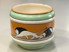 Brush McCoy Pottery 1914 Lions Roman Decoration Jardiniere Flower Pot