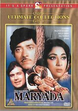 MARYADA - RAJESH KHANNA - MALA SINHA - NEW ORIGINAL BOLLYWOOD DVD - FREE POST UK