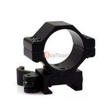 Quick Release Tactical 30mm/25.4mm Scope Mount Ring for Weaver/Picatinny Rail