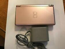 Nintendo DS Lite Metallic Rose Handheld System - Loose Hinge
